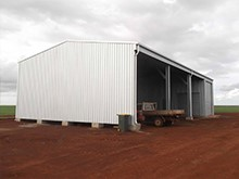 Rural and farm sheds built to last